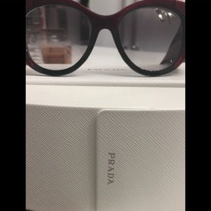 Prada Tapestry Collection Sun Glasses